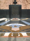 Seal of the United States and Inscription at the Hoover Dam Memorial