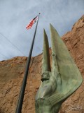 Winged Figure of the Republic with US Flag, Hoover Dam, AZ/NV