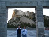 Me and Chad in front of Mt. Rushmore, Mt. Rushmore, SD