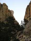Side View of Mount Rushmore, Mt. Rushmore, SD