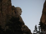 Washington's Face: Side View, Mt. Rushmore, SD