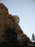 Side View of Mt. Rushmore, Mt. Rushmore, SD