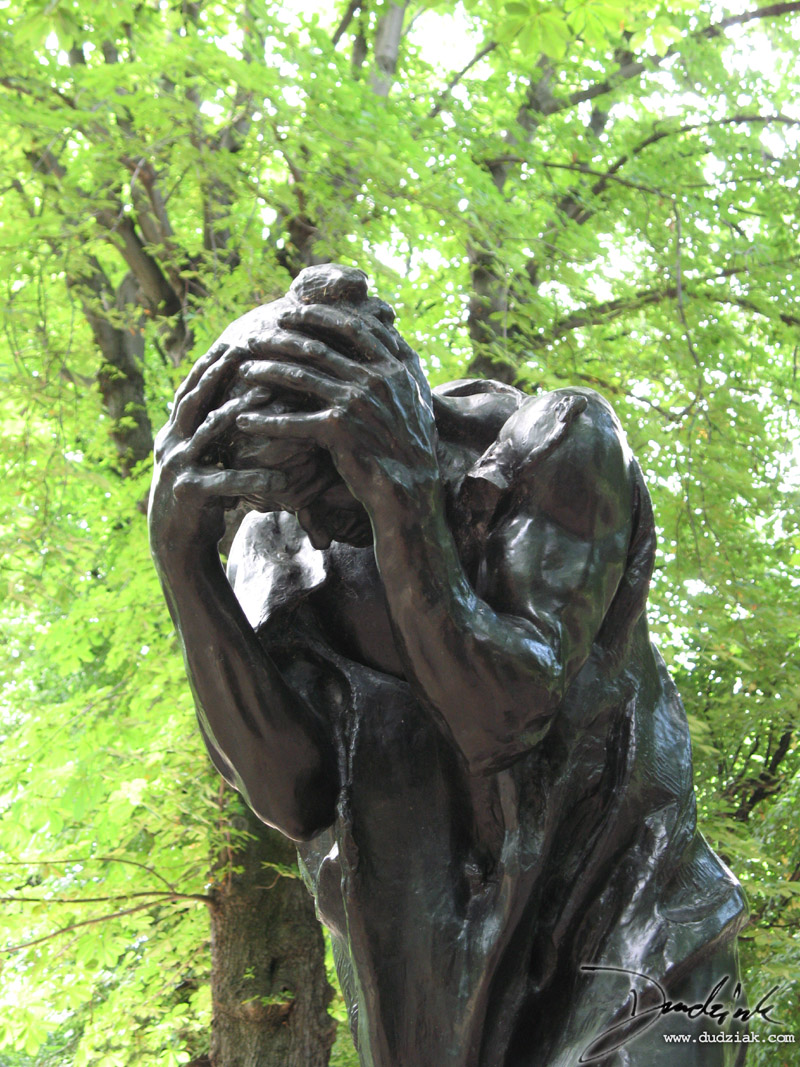 Picture of Andrieu d'Andres sculpture by Rodin.  Picture taken in the Musee Rodin in Paris, France.