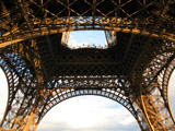 Under the Eiffel Tower