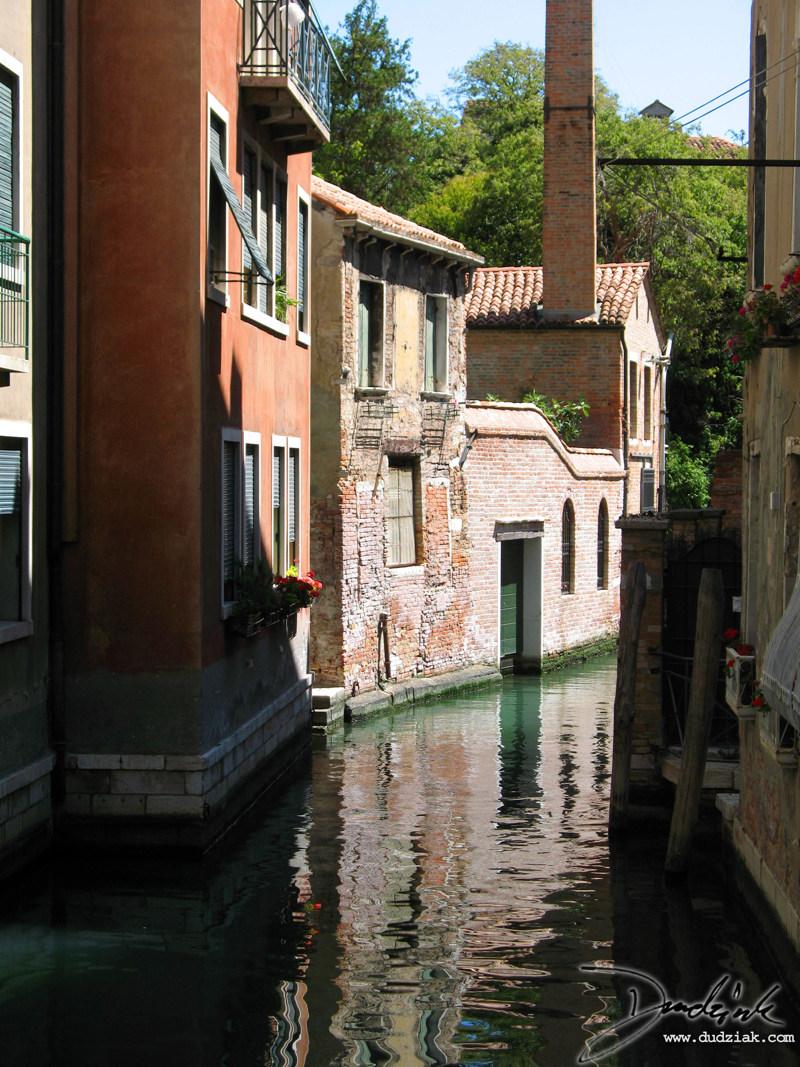 Picture of the Venetian canal Rio della Toletta facing East towards the Grand Canal in Venice, Italy.<br><Br>[Lat, Long]:[45.43216358805299, 12.325952053070068]