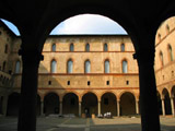 Castello Sforzesco Courtyard