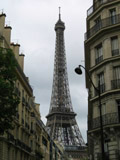Eiffel Tower from the Streets of Paris, Best of Europe, 2007