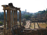 Temple of Saturn and the Roman Forum, Best of Europe, 2007