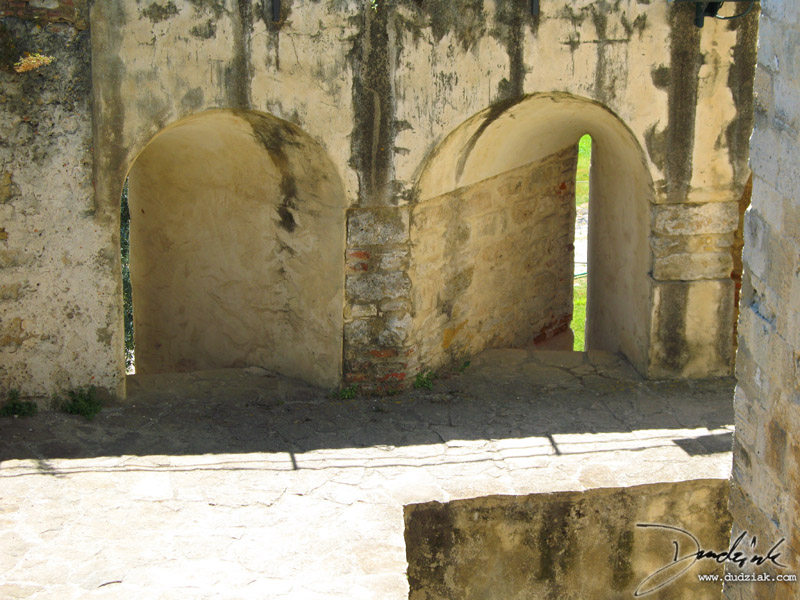 Embrasure,  Castle of Saint George,  Castle Walls,  Lisbon Portugal,  Arrowslit,  Loophole,  Lisboa,  Castelo São Jorge