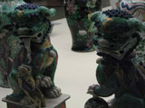 Chinese Statues in the Calouste Gulbenkian Museum