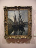 "Claude Monet's ""The Boats"""
