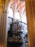 Organ Inside the Lisbon Cathedral