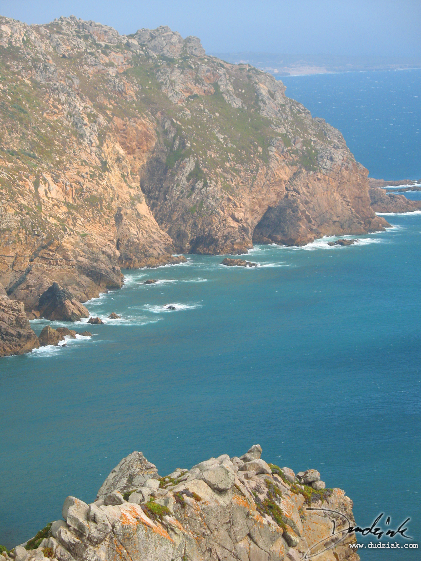 coastline,  portugal,  Cabo da Roca,  atlantic ocean