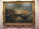 "Joseph Mallord William Turner's ""The Wreck of a Transport Ship"""