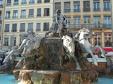 Fontaine Bartholdi in le Place des Terreaux