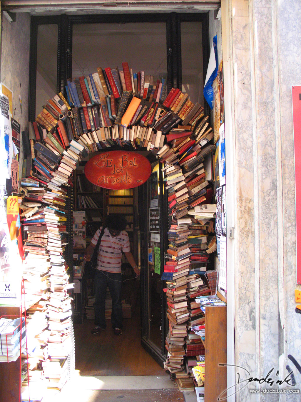 books,  Le Bal de Ardents,  bookstore,  france,  lyon,  arch