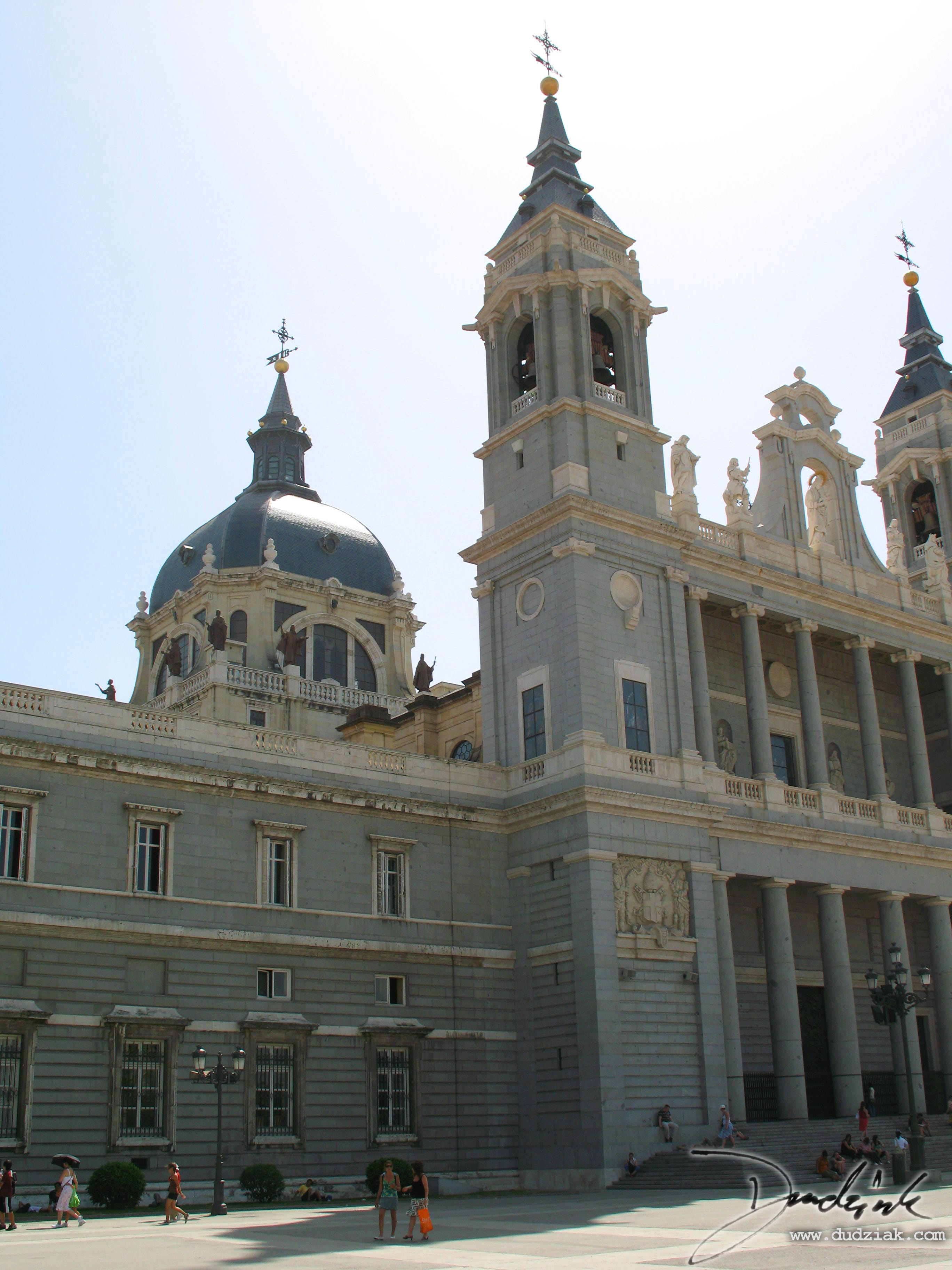 spain,  madrid,  Almudena Cathedral