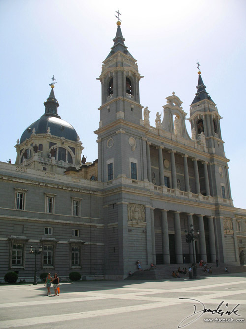 spain,  Almudena Cathedral,  madrid