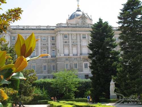 Madrid,  Spanish Royal Palace,  spanish royal gardens