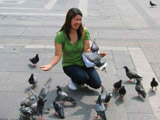 Attacked by Pigeons!