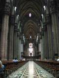 Inside Cathedral of Milan, Milan, Italy