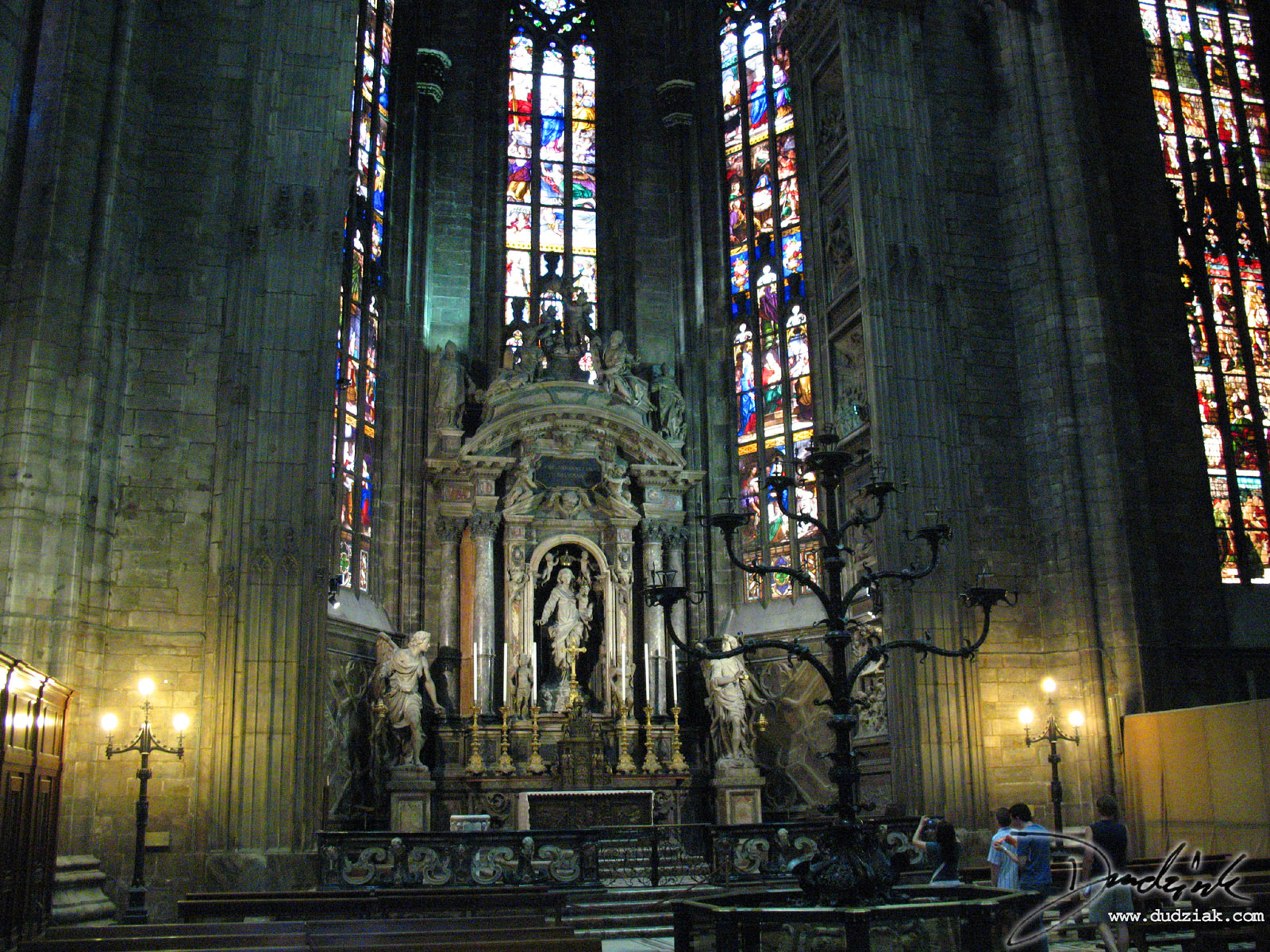 Picture Of Inside The Cathedral Milan Note Incredible Scale Gothic Architecture