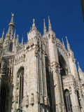 Cathedral of Milan, Side View