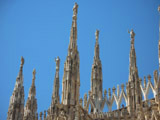 Cathedral of Milan Spires, Milan, Italy