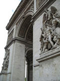 Arc de Triomphe - Side View