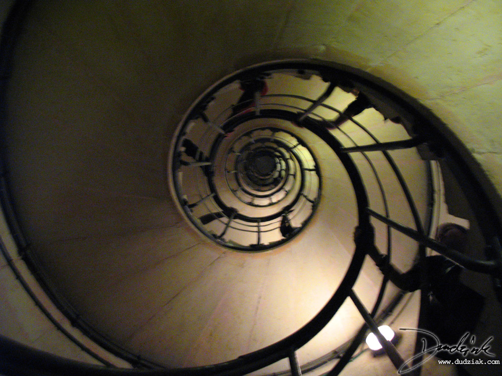 Arc de Triomphe,  france,  paris,  staircase