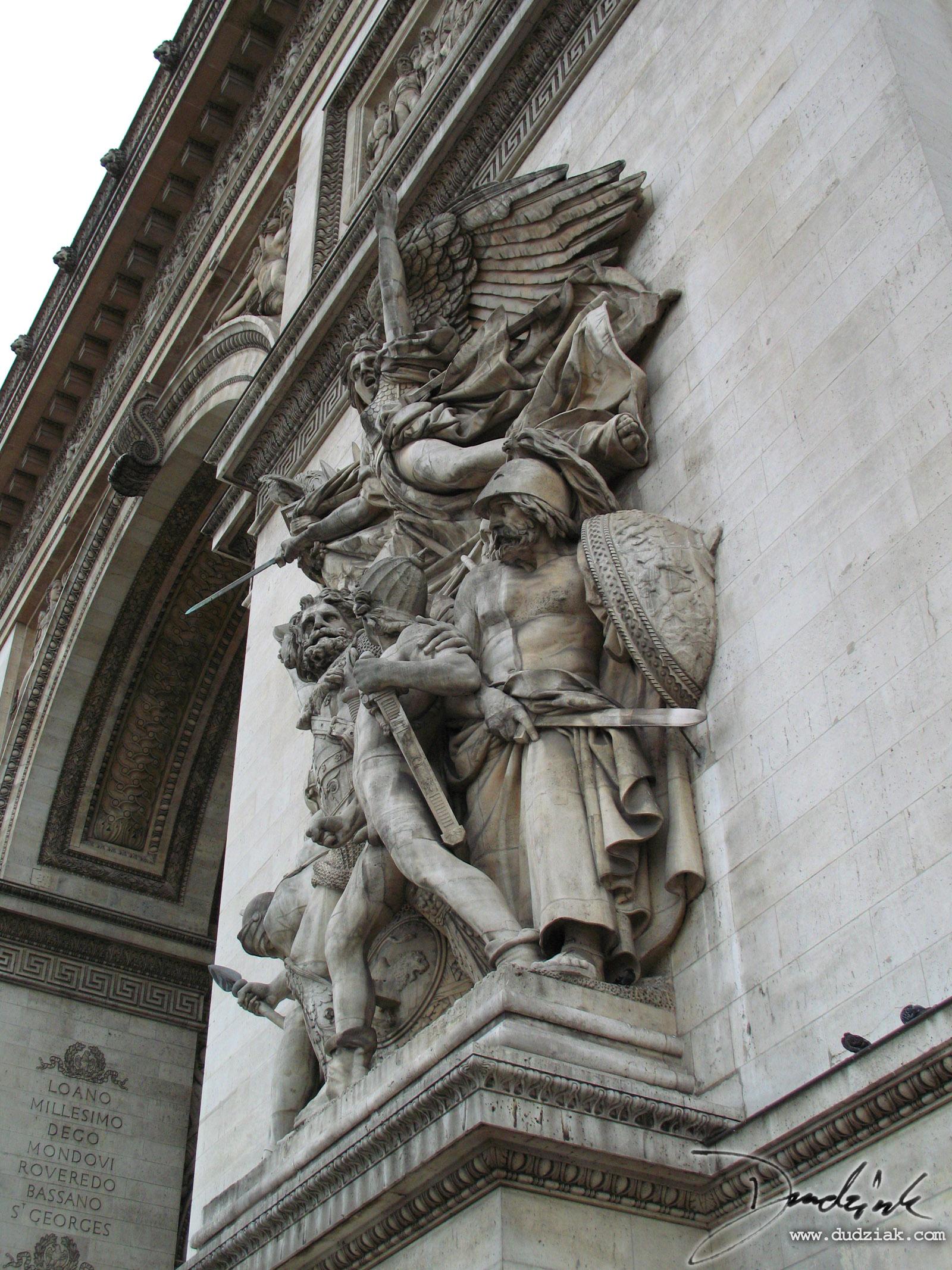 statues  arc de triomphe 1600x2133