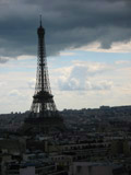 Eiffel Tower as Seen from the Arc de Triomphe
