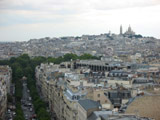 Sacre Coeur and City of Paris