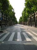 Boulevard Saint-Germain Completely Empty, Bastille Day