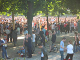Champ de Mars on Bastille Day