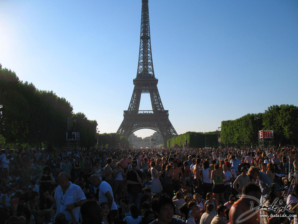 Quatorze Juillet,  Eiffel Tower,  Paris,  Champ de Mars,  Bastille Day,  France