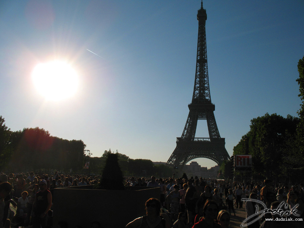 Paris,  Champ de Mars,  Quatorze Juillet,  France,  Bastille Day,  Eiffel Tower