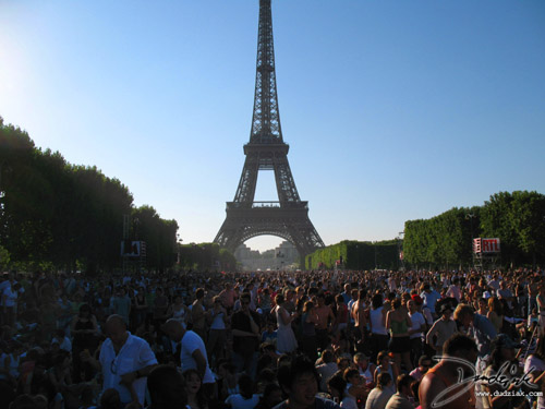 Quatorze Juillet,  Champ de Mars,  France,  Paris,  Bastille Day,  Eiffel Tower