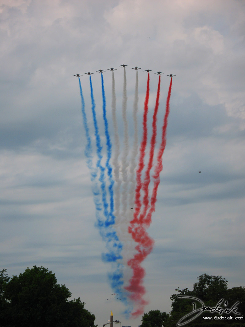 Quatorze Juillet,  airplanes,  French Flag,  Bastille Day,  jets,  french fighters,  Paris,  France