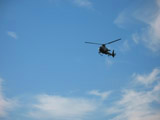 French Helicopter, Bastille Day