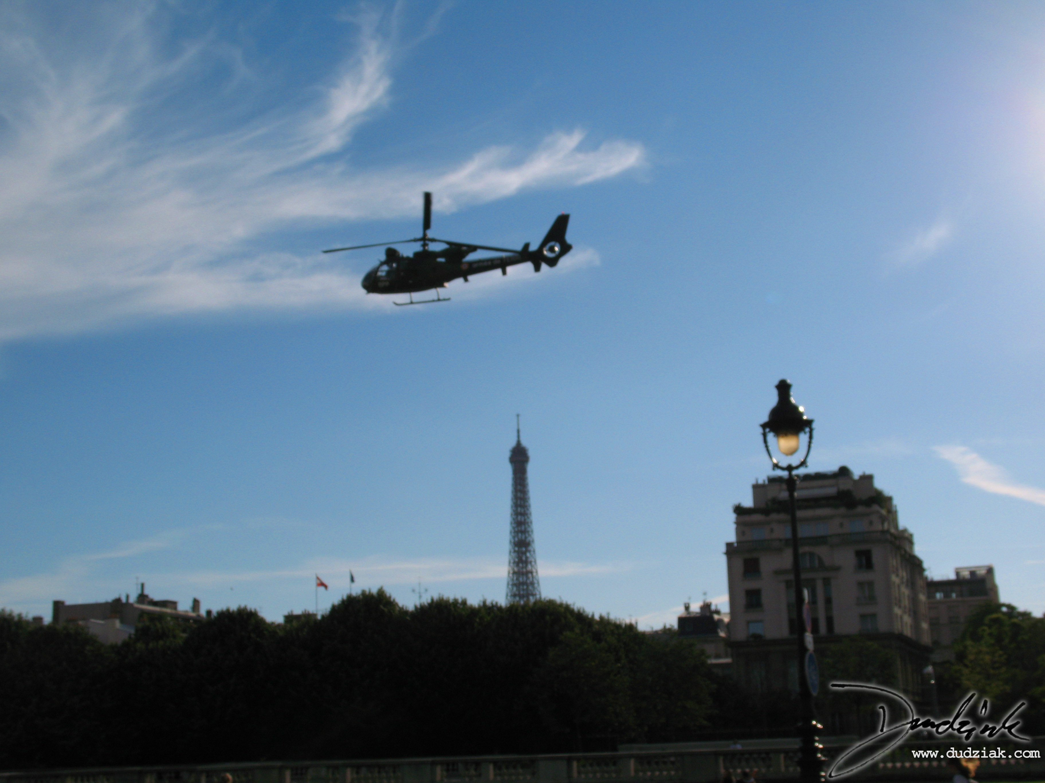 Eiffel Tower,  French Military,  Paris,  Quatorze Juillet,  Helicopter