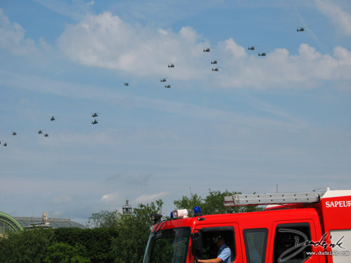 Helicopters,  french air force,  France,  Quatorze Juillet,  Paris,  Bastille Day