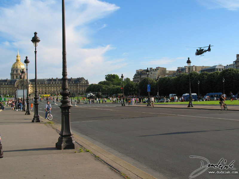 Les Invalides,  Paris,  Quatorze Juillet,  Bastille Day,  France