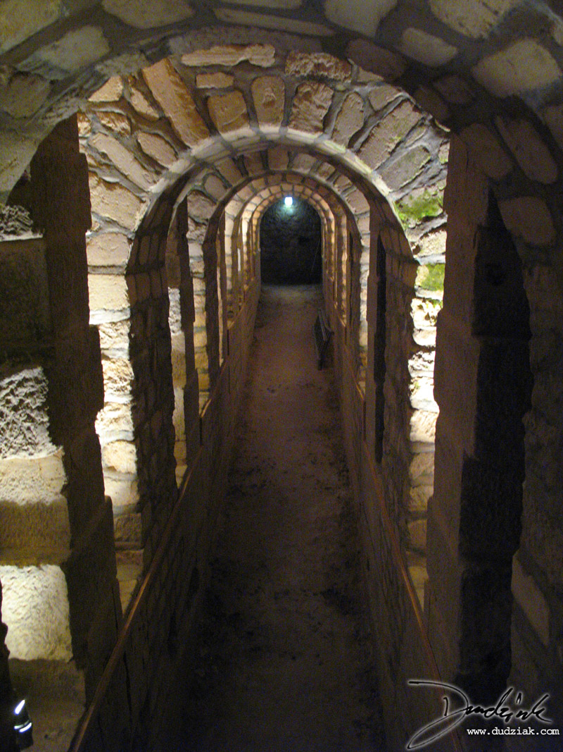 Passageway to the Paris Catacombs