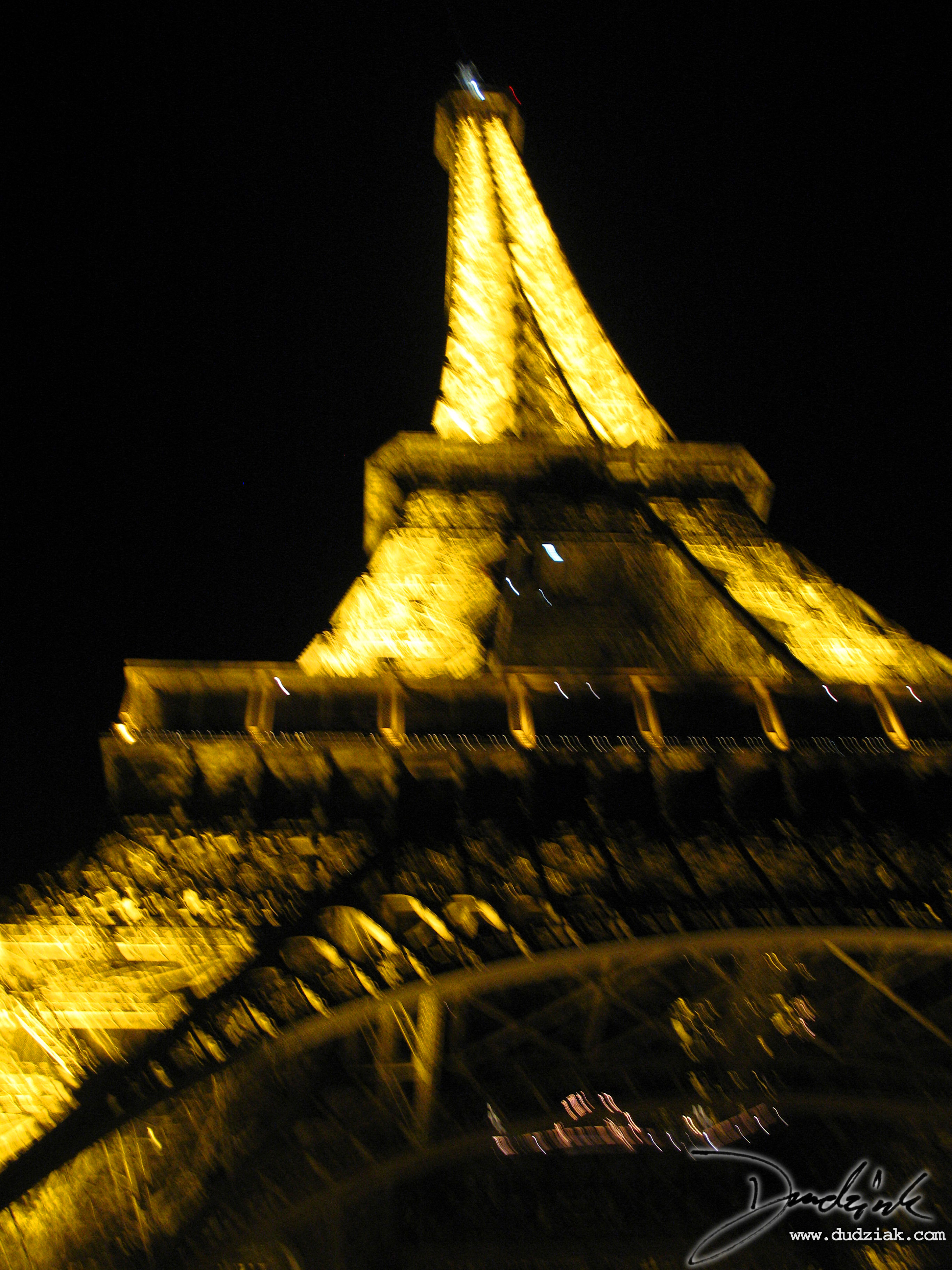 Night,  Eiffel Tower,  Blurry,  Paris France,  Bastille Day