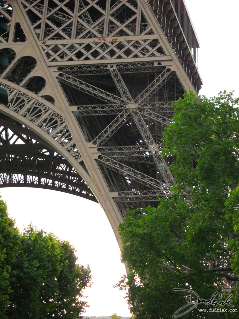 Eiffel Tower,  Leg,  Pier,  Steel,  Paris France