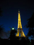 Eiffel Tower at Night, Eiffel Tower