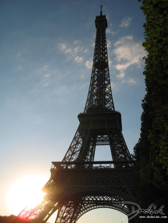 Eiffel Tower Tour Eiffel Sunset Paris France Eiffel Tower At Sunset