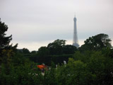 Eiffel Tower from Jardin des Tuileries, Eiffel Tower