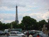 Eiffel Tower from Streets of Paris, Eiffel Tower